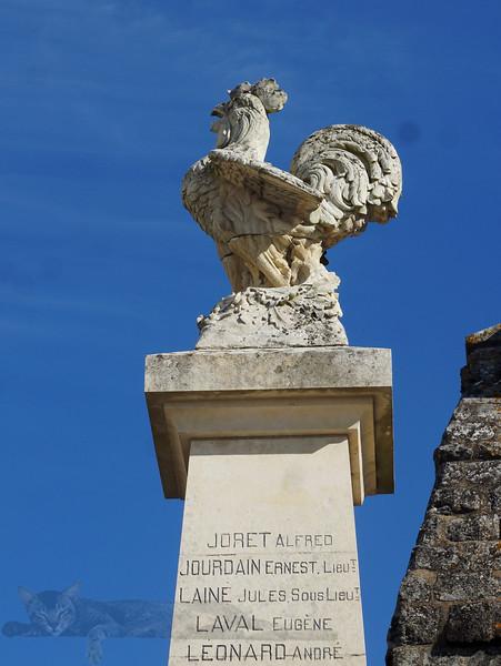 Blanzac Porcheresse War Memorial