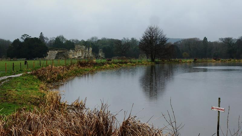 Waverley Abbey Ruins