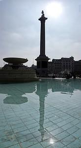 Nelson's Column Reflection