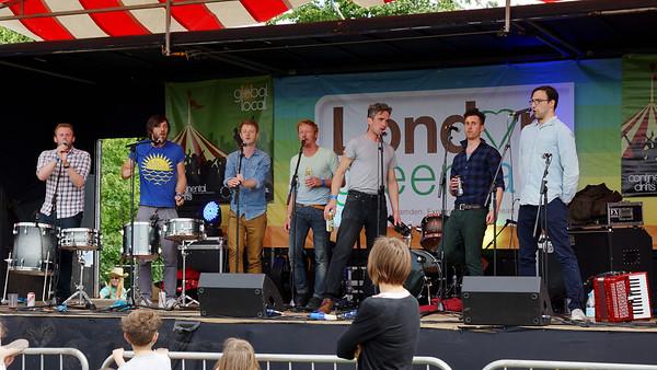 Music at The Green Fair - London - 2012