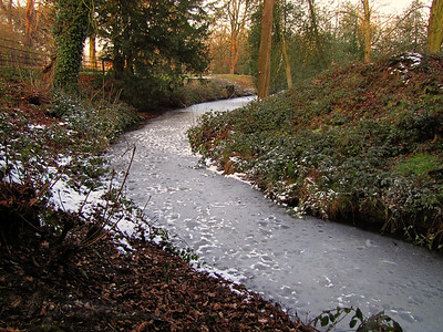 Osterley Park Frozen Lake