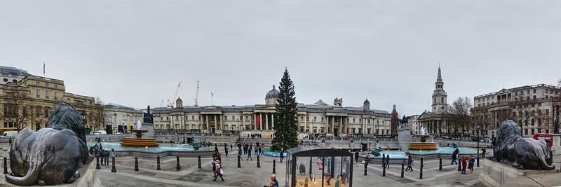 Trafalgar Square - Christmas