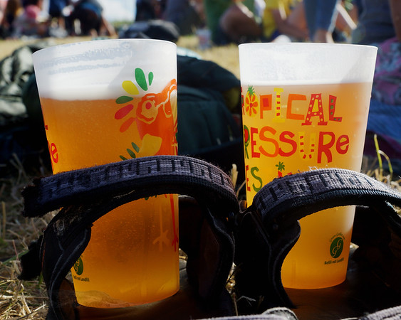 Tropical Pressure Music Festival Beer