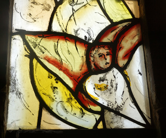 Chagall Window in All Saints' Church Tudeley