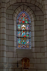 Stained Glass Window - Eglise de Douzillac
