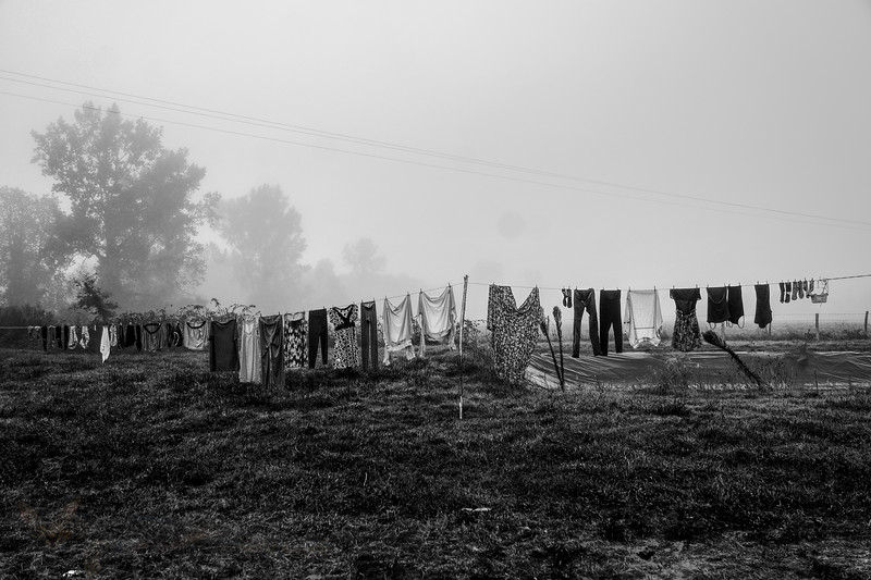 Laundry Drying in Poitou Charentes