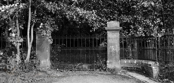 Keighley and Bingley Joint Isolation Hospital Gates