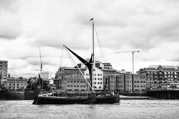 Sailing Barge on the Thames