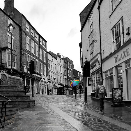 Rainy Day on Elvet Bridge