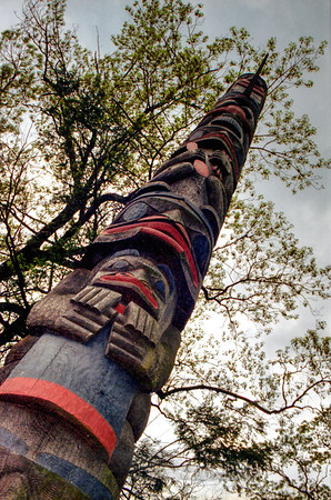 Connecticut - Totem Pole - Location Unknown