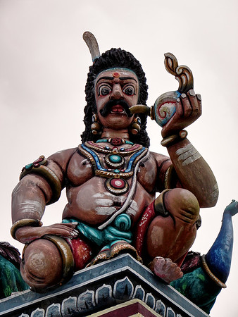 Penang Hill - Temple Statue