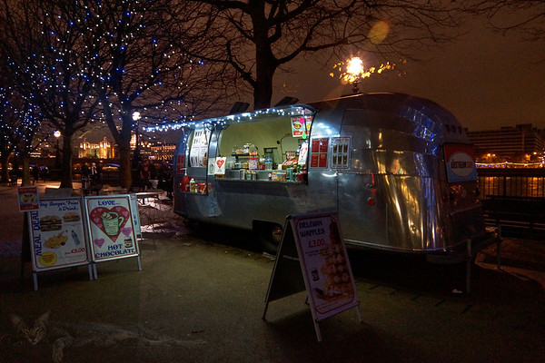 Airstream Cafe - London Southbank
