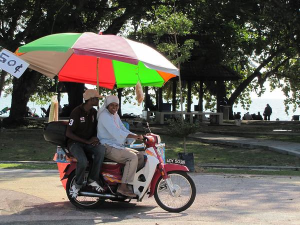 Ice Cream Vendors - Teluk Batik Beach
