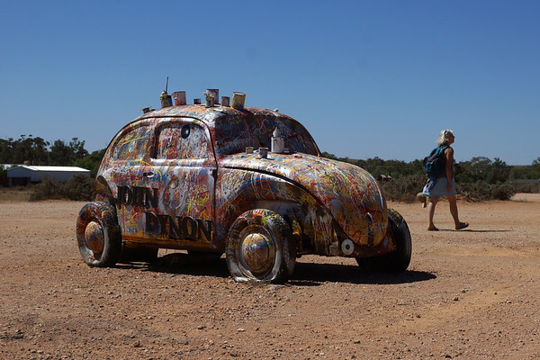 Volkswagon Beetle Painted by John Dynon