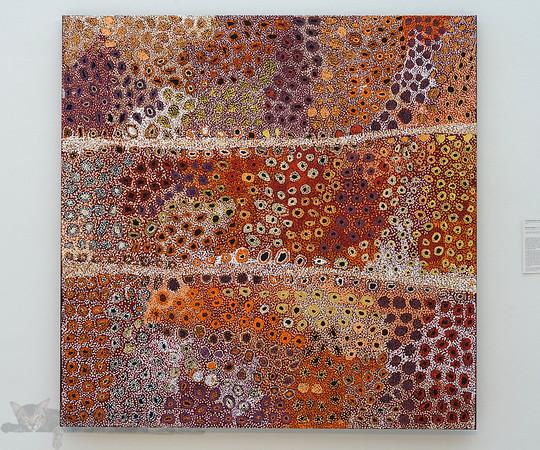 Seven Sisters by Tjampawa Katie Kawiny