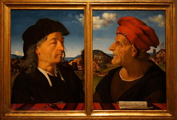Giuliano & Francesco Giamberti by Piero di Cosimo