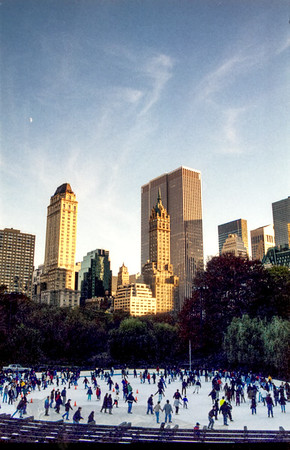 New York - Wollman Rink - Ice Skating - Central Park