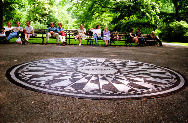 Strawberry Fields in Central Park