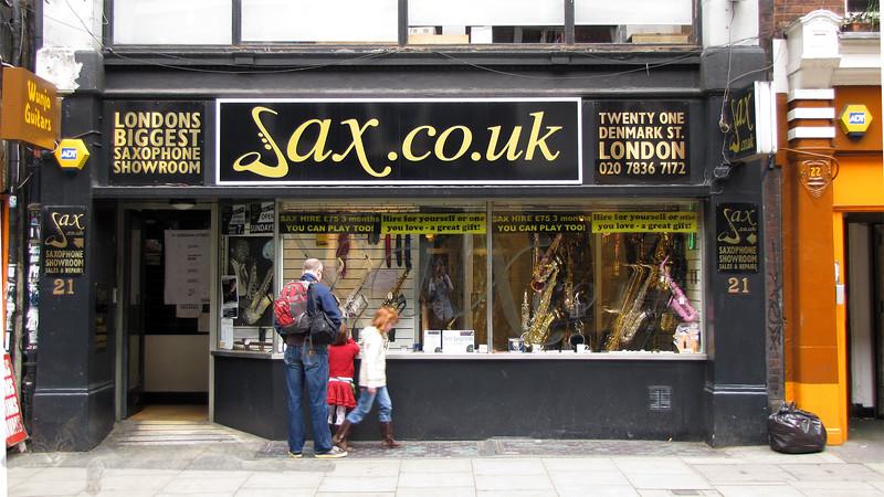SAX Shop