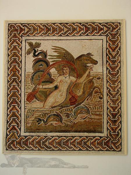 Mosaic in Tunisia