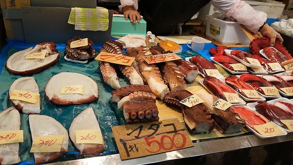 Fish Stall in Aomori