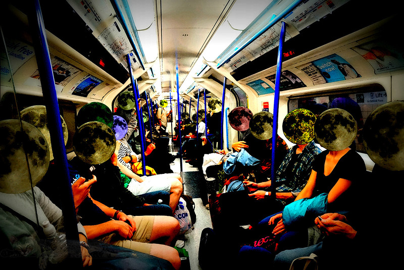 Moonheads Ride the Tube