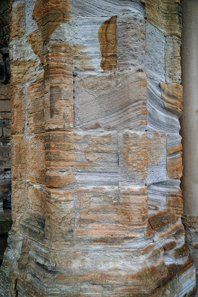 Weather Worn Pillars at Durham Cathedral