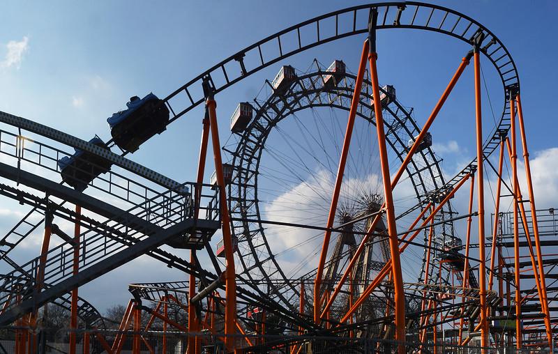 Prater Amusement Park Ferris Wheel