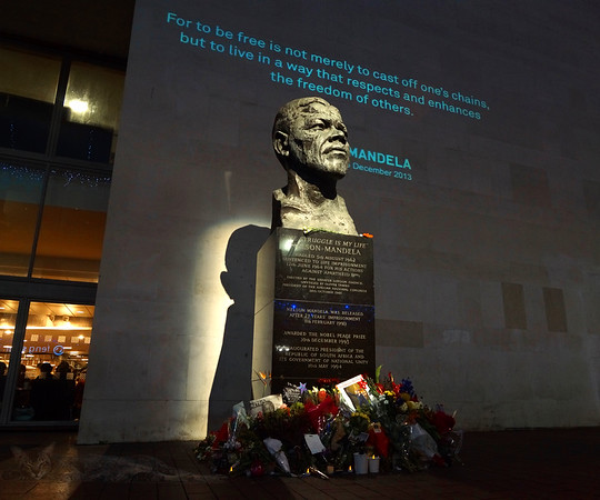 Nelson Mandela Bust - Royal Festival Hall