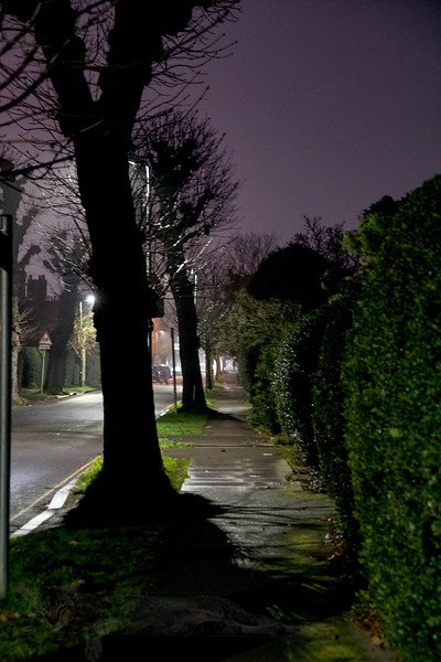 Mostyn Road at Night