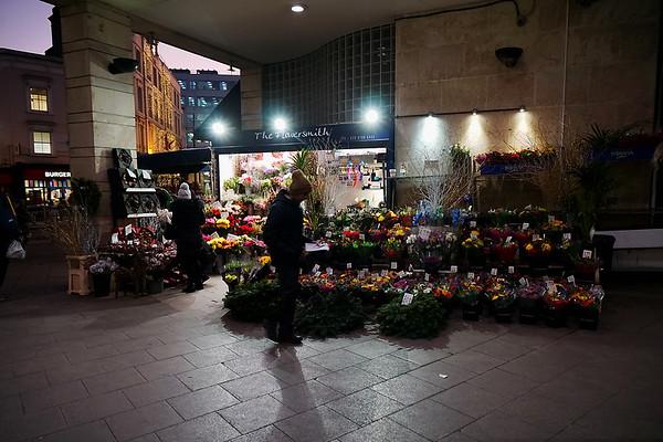 The Flowersmith Florist at Wimbledon Station - 2019