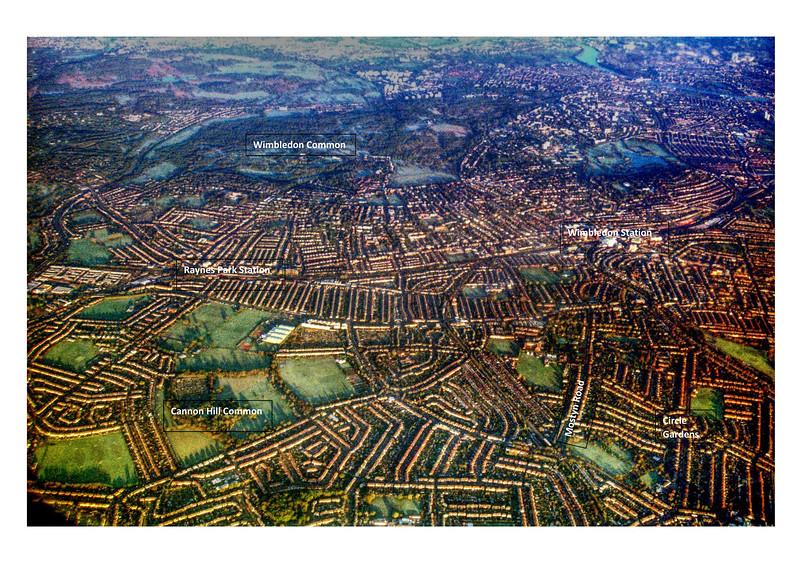 Aerial Photograph of Merton - 1995
