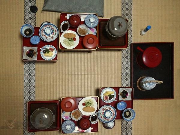 Breakfast in Koyasan Monastery