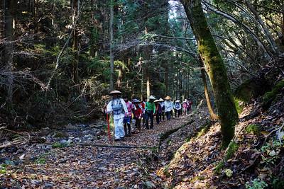 Pilgrims in the Kii Mountains