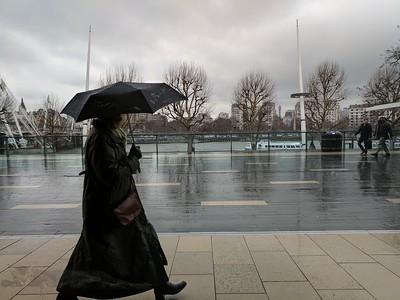 Woman Walking - Southbank