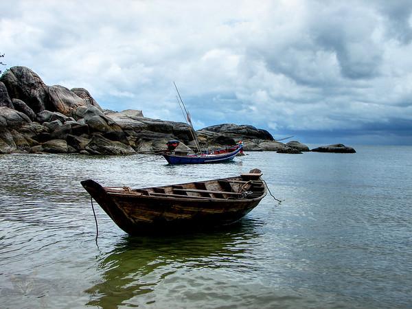 Ko Pha Ngan - Boat - Thailand