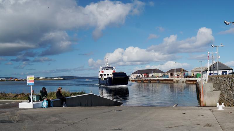 Kirkwall Harbour - MV Shapinsay Ferry