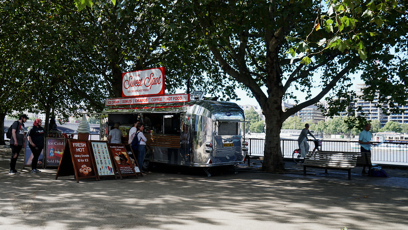 Southbank - Sweet Spot Airstream Cafe