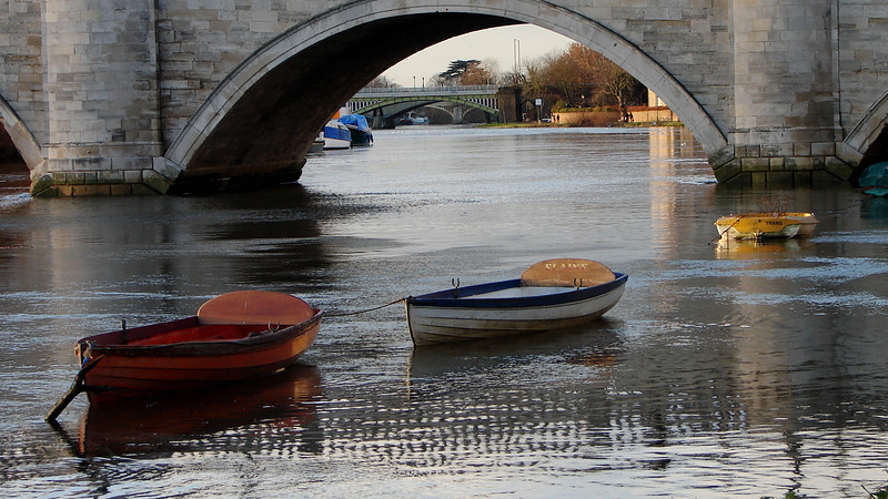 River Thames at Richmond in 2005