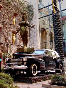 Black Cadillac in Dali Museum