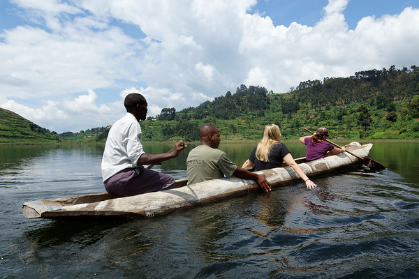 In the Canoe - Uganda