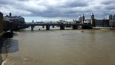River Thames - Cannon Street Railway Bridge