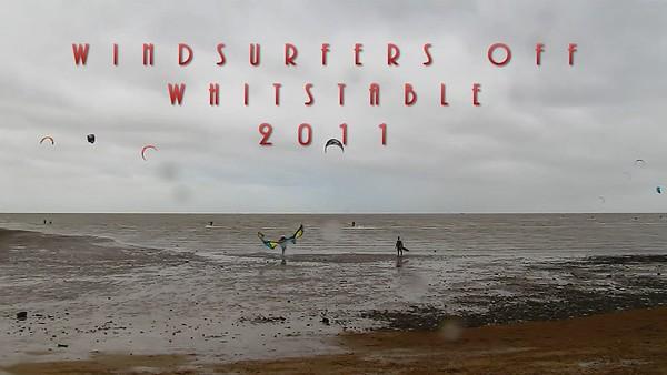 Whitstable - Kitesurfers - Video