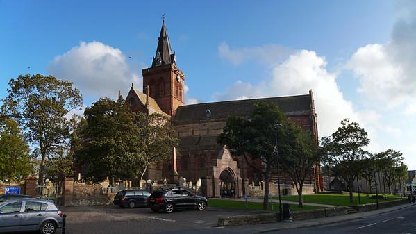 Kirkwall - Saint Magnus Cathedral - Orkney