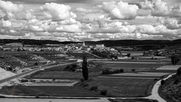 View from the train Madrid to Zaragoza