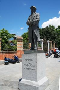 Statue of The Spanish Writer Pio Baroja