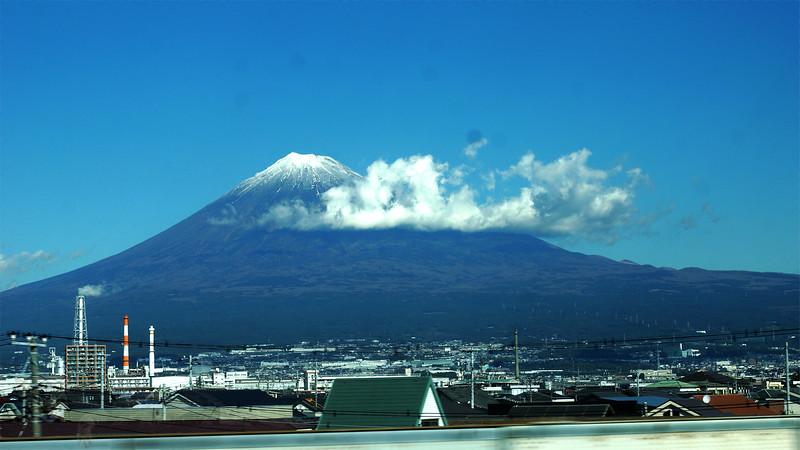 Mount Fuji from a Shinkansen #2