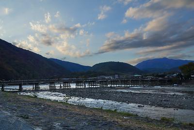 Kyoto - Togetsu-kyo Bridge