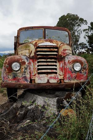 Abandoned Truck - Australia