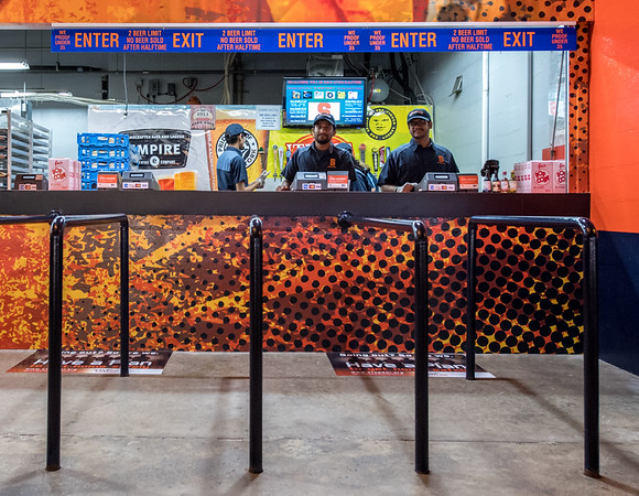 Syracuse University recently upgraded concession stands in the Dome.